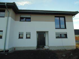 Doppelhaus-Front